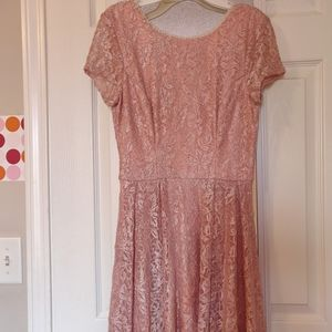Pink sparkly gown BRAND NEW